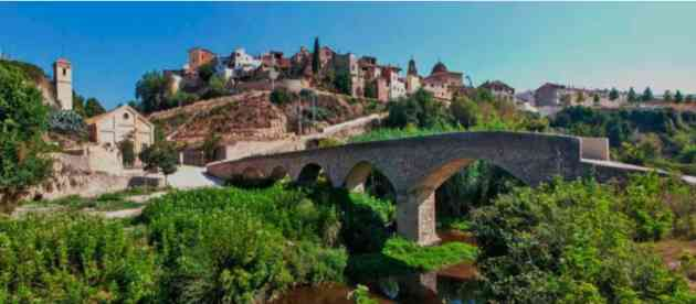 Panorama di Ayelo di Malferit, in Spagna, alle origini della Coca-Cola