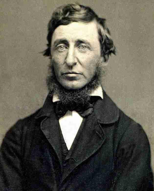 Henry David Thoreau, dagherrotipo