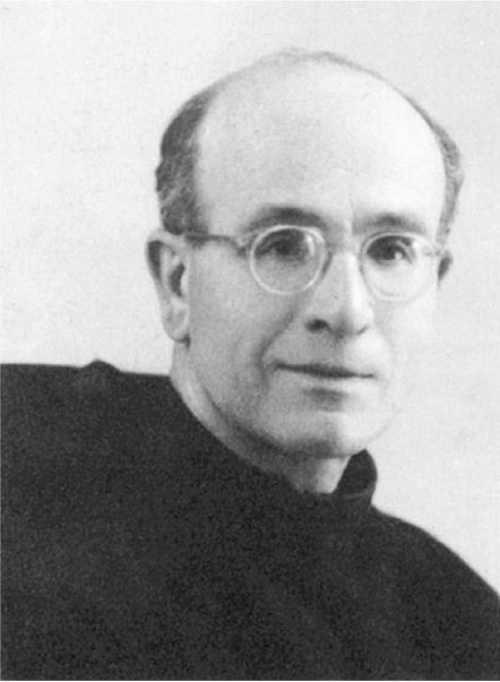 Padre Giacomo Giacobazzi nel 1955, impulsore della Italian Chapel