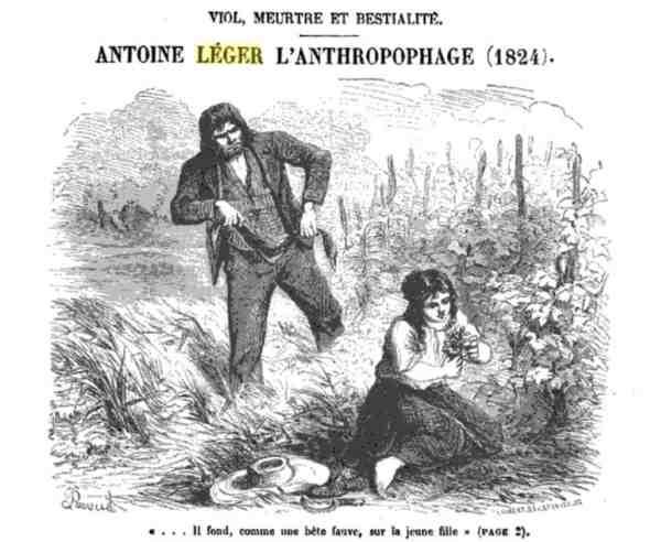 Antoine Léger: assassino