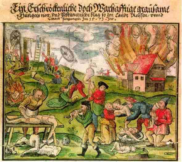Antoine Léger: Scene di cannibalismo in Lituania e Russia nel 1571.