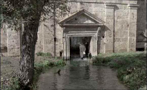Il santuario annegato